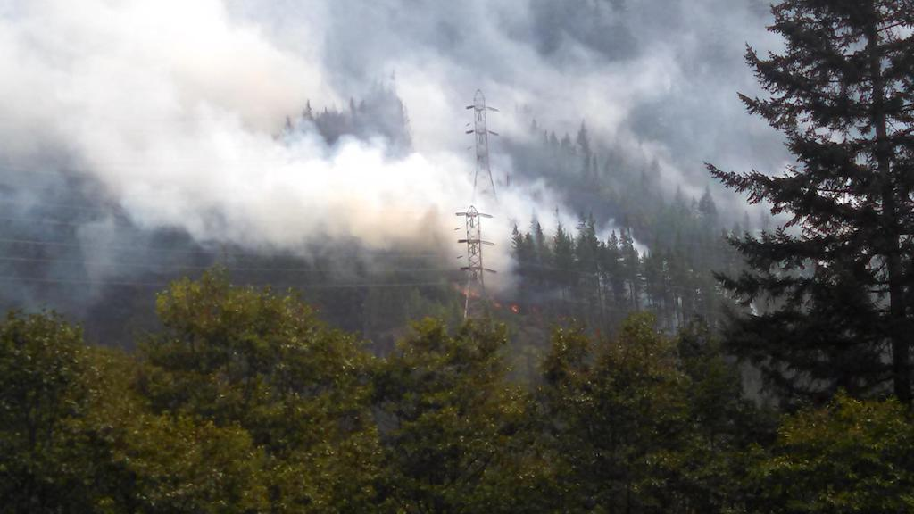 The Goodell Creek Fire burned 6,632 acres near Newhalem, Washington in 2015. Photo: Seattle City Light