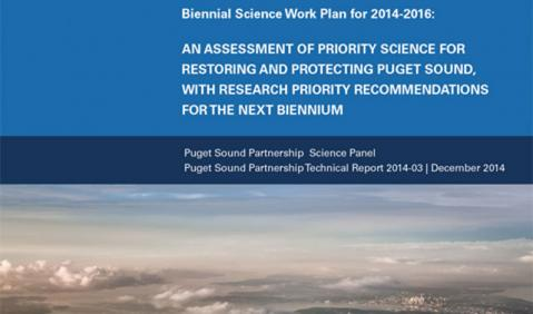 Biennial Science Work Plan report cover