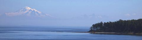 View from the San Juan Islands. Photo: Bureau of Land Management