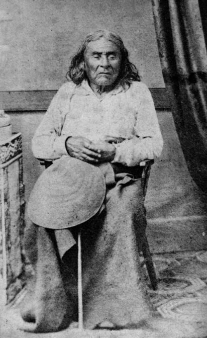 Chief Sealth, known to settlers as Chief Seattle. Photo: E.M. Sammis/MOHAI.