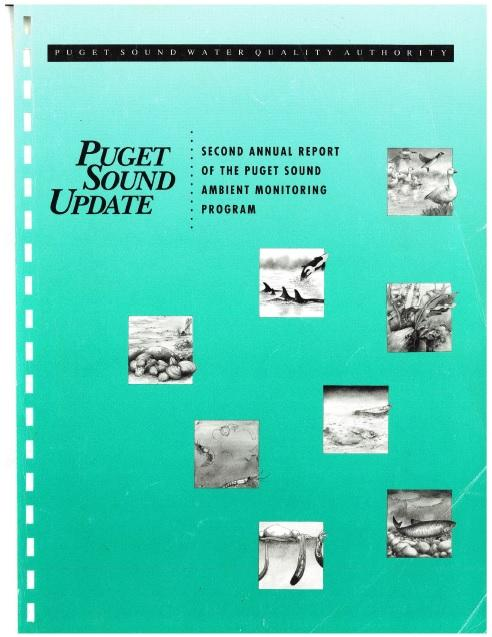 1991 Puget Sound Update report cover page