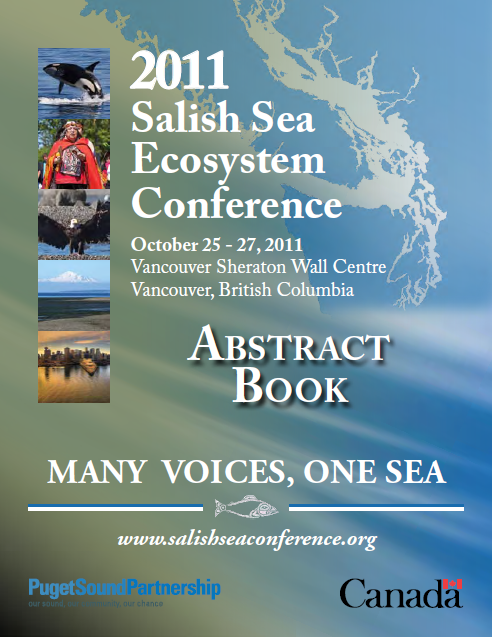 2011 SSEC abstract book cover