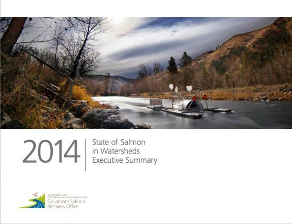 2014 state of salmon in watersheds report cover