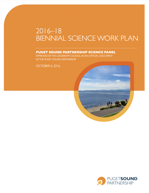 Biennial Science Work Plan for 2016-2018