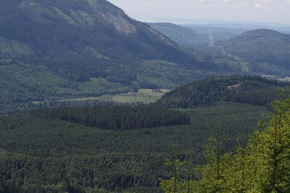 Stillaguamish River (North Fork) valley
