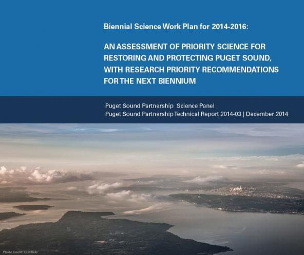 Biennial Science Work Plan for 2014-2016