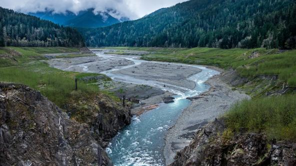 The Elwha River, Washington. Photo: Tom Collins https://flic.kr/p/SUgCYk (CC BY-ND 2.0)