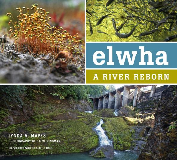 "Book cover for ""Elwha: A River Reborn"" by Lynda Mapes"