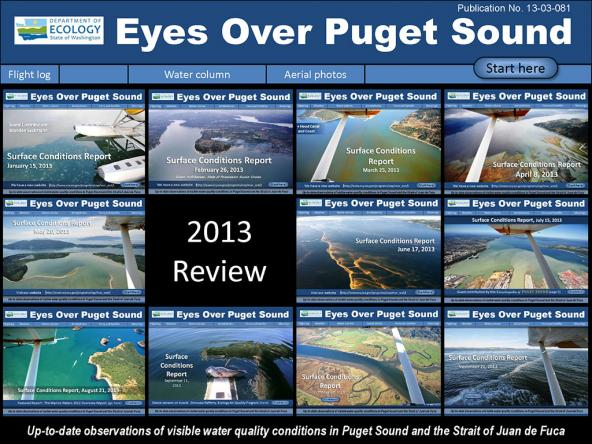 Eyes Over Puget Sound: Surface Conditions Report - December 31, 2013