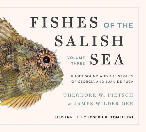 Fishes of the Salish Sea book cover