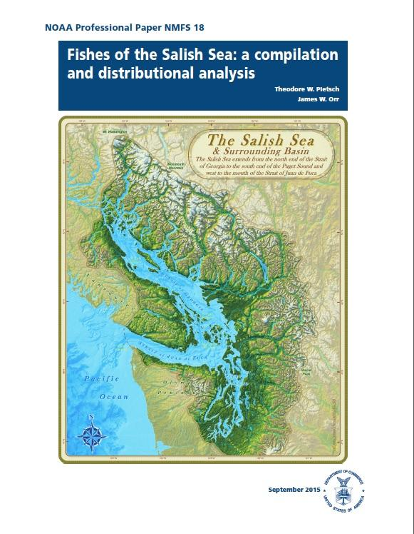 Fishes of the Salish Sea report cover