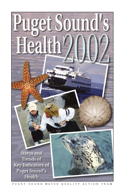 Puget Sound's Health 2002 report cover page