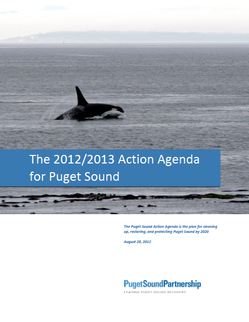 The 2012/2013 Action Agenda for Puget Sound cover page