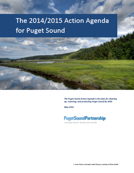 The 2014/2015 Action Agenda for Puget Sound cover page