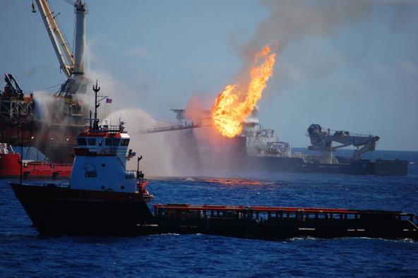 Deepwater Horizon oil spill, 2010. Photo courtesy of NOAA.