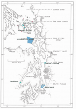 Figure 2. Map of seven MPAs studied in 2010