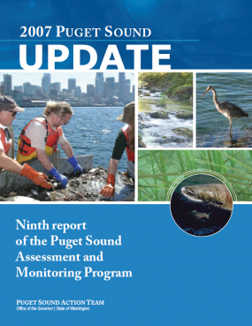 2007 Puget Sound Update report cover page