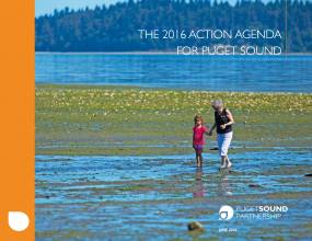 The 2016 Action Agenda for Puget Sound cover page
