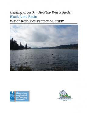 Black Lake Basin water resource protection study report cover