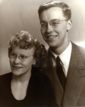 Eugene and Dorothy Collias.  Photo courtesy of Collias estate