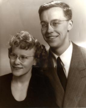 Eugene and Dorothy Collias.  Photo courtesy of Collias estate