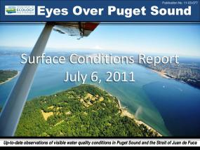 Eyes Over Puget Sound: Surface Conditions Report - July 6th, 2011