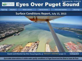 Eyes Over Puget Sound: Surface Conditions Report - July 15, 2013