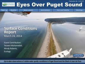 Eyes Over Puget Sound: Surface Conditions Report - March 24, 2014