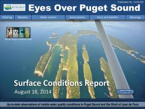 Eyes Over Puget Sound: Surface Conditions Report - August 18, 2014