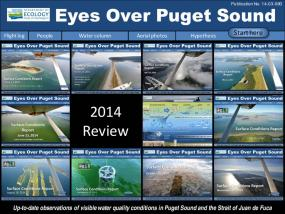 Eyes Over Puget Sound: Surface Conditions Report - December 30, 2014