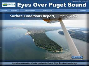Eyes Over Puget Sound: Surface Conditions Report – June 6, 2017
