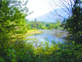 The Snoqualmie River. Photo copyright King County.