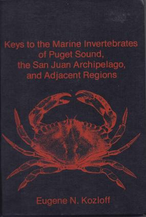 "A scan of Eugene Kozloff's book ""Marine Invertebrates of Puget Sound"""