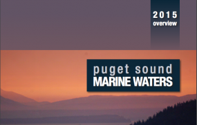 Puget Sound Marine Waters 2015 report cover