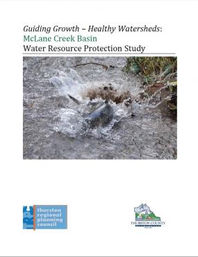 McLane Creek Basin water resource protection study report cover