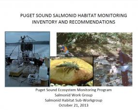 Puget Sound Salmonid Habitat Monitoring Inventory and Recommendations