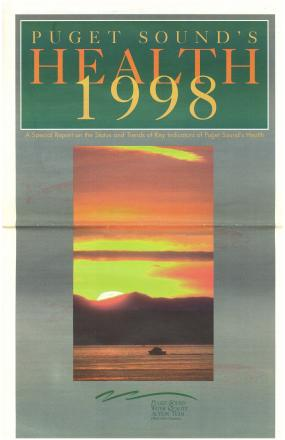 Puget Sound's Health 1998 report cover page
