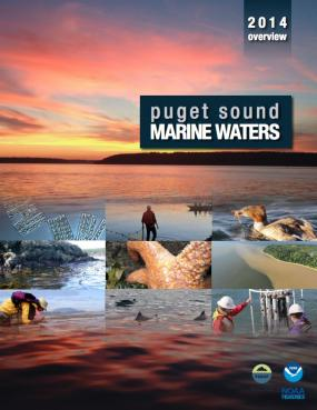 Puget Sound marine waters 2014 report cover