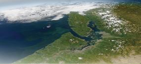 Satellite image of Western Washington