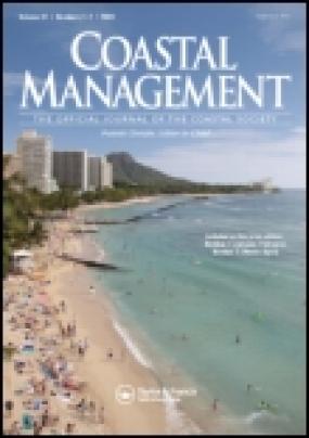 Coastal Management journal cover