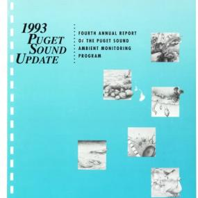 1993 Puget Sound Update report cover page