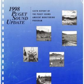 1998 Puget Sound Update report cover page