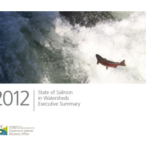 2012 State of Salmon in Watersheds Executive Summary report cover