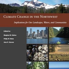 Cover image of the report Climate Change in the Northwest