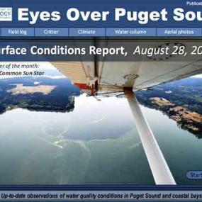Eyes Over Puget Sound August 2017 report cover