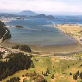 Fidalgo Bay Aquatic Reserve. Photo courtesy of the Washington Department of Natural Resources.