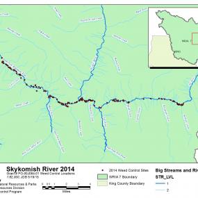 Appendix 5. Map of Skykomish/Tye River Control Locations 2014