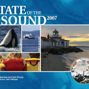 State of the Sound 2007 report cover image
