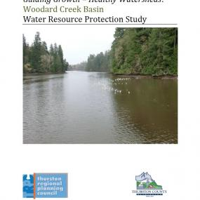 Woodard Creek Basin water resource protection study report cover
