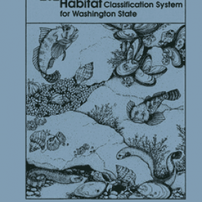 Cover page for A Marine and Estuarine Habitat Classification System for Washington State